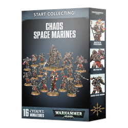 Start Collecting! Chaos Space Marines-13601