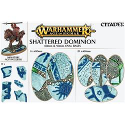 Shattered Dominion: 60mm & 90mm Oval Bases-7215