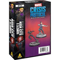 Marvel: Crisis Protocol - Hawkeye and Black Widow-15270