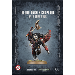Blood Angels Chaplain with Jump Pack-6421
